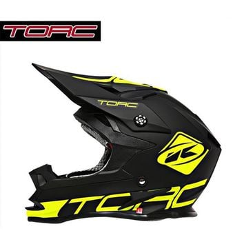 TORC motorcycle locomotive half-covered cross-country helmet mountain bike racing speed drop full helmet men and women T32