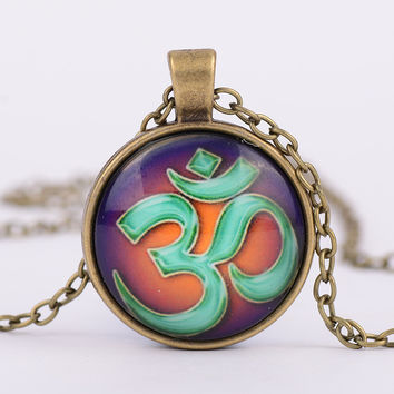 Best gold om pendant products on wanelo for Zen culture jewelry reviews