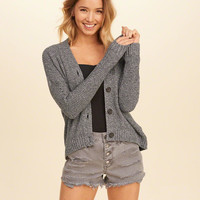 Girls Ribbed Boyfriend Cardigan | Girls New Arrivals | HollisterCo.com