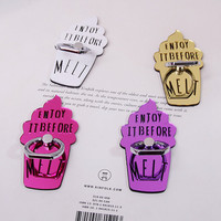 Cute Ice Cream Alloy Phone Case phone ring 360 for Diy Phone Case Accessories,phone ring stand