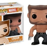 Funko POP Marvel: Logan Wolverine Bobble Figure