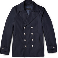 Gucci - Cotton-Blend Peacoat | MR PORTER