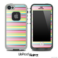 Bright Vector Striped Skin for the iPhone 5 or 4/4s LifeProof Case