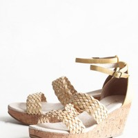 bali braided wedges by Restricted at ShopRuche.com