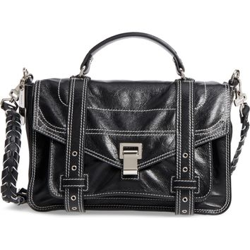 Proenza Schouler Medium PS1 Calfskin Leather Satchel | Nordstrom