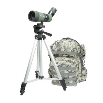 Celestron LandScout 10-30x50 Backpack/Tripod Kit-Olive Green