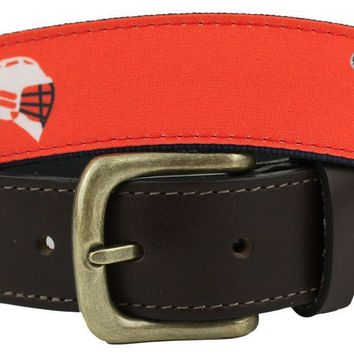 Bosun Belt in Island Red with Lacrosse by Castaway Clothing