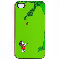FREE SHIPPING SALE iPhone 4 4s The Giving Tree Hard iPhone Case Comes in Black or White