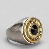 Lovebullets Two-Tone Love Cartridge Ring - Urban Outfitters