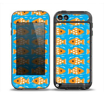 The Seamless Vector Gold Fish Skin for the iPod Touch 5th Generation frē LifeProof Case