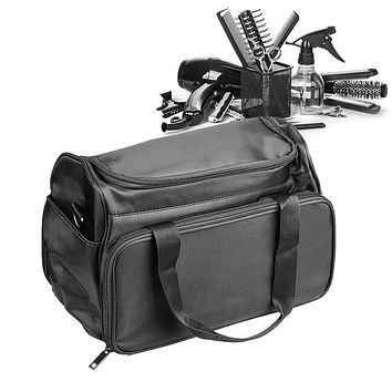 Hairdressing Bag & Barber Handbag, Portable Salon Hair Tools Bag with Scissors Comb Holder, Hair Stylist Bag for Equipment, Travel Luggage Pouch