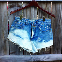 High waisted shorts by KayleesKrafts15 on Etsy