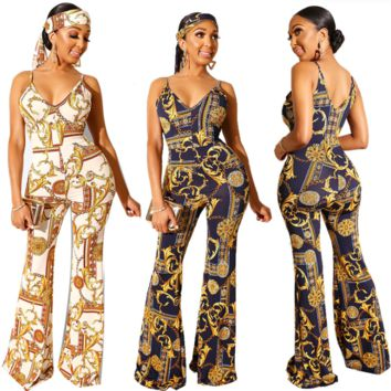 Versace Women Sleeveless Jumpsuit