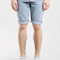 Bleach Temple Skinny Shorts