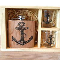 Anchor Shot Glass Set