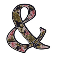 Of Mice & Men Floral Ampersand Sticker