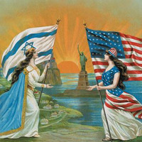 Jewish and American Friendship 20x30 poster