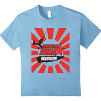 American-ninjas Kid Warriors Gift T-Shirt