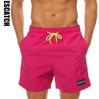 2018 New Hot Mens Board Shorts Swim Beach Boxer Trunks Shorts Sport Homme Bermuda Short Pants Quick Dry Boardshorts 10colors