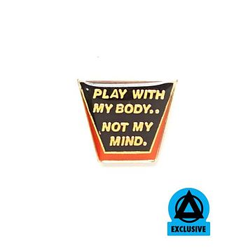 Play With My Body Vintage Pin