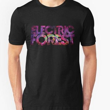 DCCKV2S Custom Design T Shirts Electric Forest T Shirt Festival Music Rothbury Electronic Jam Band casual Fitness Clothing Tee shirt