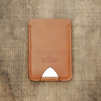 DERRINGER WALLET TAN