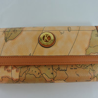 Travel As You Please World Map Wallet