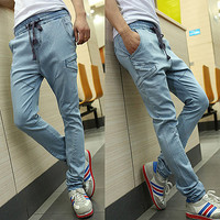 Harem Style Men Fashion Casual Jeans