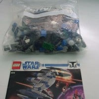 LEGO Star Wars 8016 Manual Retired Hyena Droid Bomber Used Loose 98% Complete