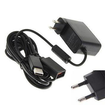 For Xbox 360 XBOX360 Kinect Sensor US/EU USB AC Adapter Power Supply cable Charging Adapter Charger DC 12V 100V~240V 50/60 Hz
