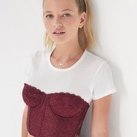 Out From Under Night Out Bustier Bra Top | Urban Outfitters