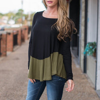 Worthy Of Your Love Top, Black