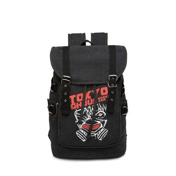 Anime Backpack School kawaii cute Attack on Titan Scouting Legion Backpack Student School Canvas Laptop Bag Casual Leisure Rucksack Cosplay Mochila Gifts AT_60_4