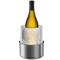 Final Touch Ice Bottle Chiller, Stainless Steel