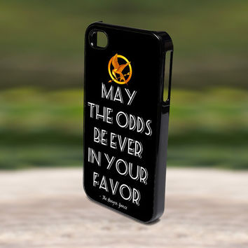 Accessories Print Hard Case for iPhone 4/4s, 5, 5s, 5c, Samsung S3, and S4 - Jennifer Lawrence The Hunger Game Quote