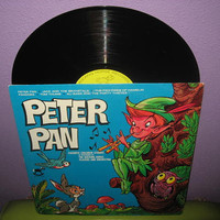 HOLIDAY SALE Vinyl Record Album Peter Pan - Favorite Children's Stories LP 1970s Classics