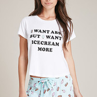 I Want Ice Cream PJ Set