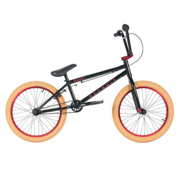 "United 2016 Recruit Jr 20"" Black Bmx Bike"