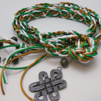 Handfasting Cord - Luck O' the Irish - Trinity Crossing