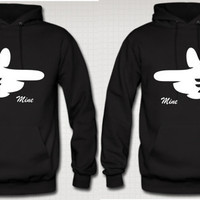 She's Mine - He's Mine  COUPLE HOODIE
