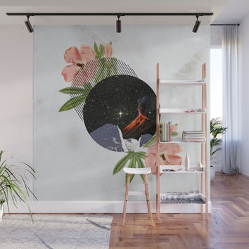 Hawaiian Space Marbles Wall Mural by chelseamcconkey