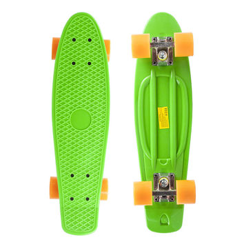 "22"" Complete Plastic Penny Style Street Classic Skateboard - Light Green"