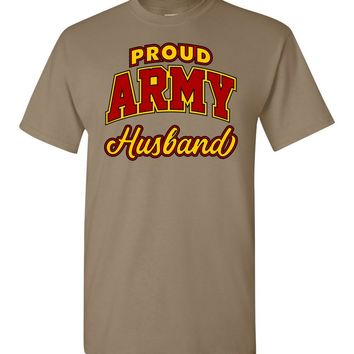 Proud Army Husband T-Shirt