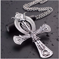 Egyptian Ankh Personalized Necklace