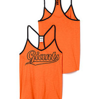 San Francisco Giants Strappy V-Neck Tee - PINK - Victoria's Secret