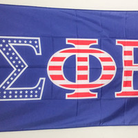 Sigma Phi Epsilon SigEp USA Letter Fraternity Flag 3' x 5'