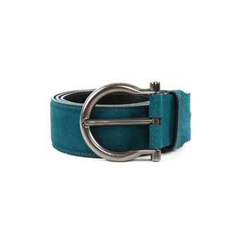 Turquoise Suede Belt