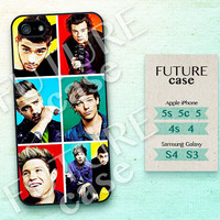 One Direction iPhone 4s case Pop Star Idol Band iPhone case iphone 4 case iphone 4s case iphone 5 case Hard or Soft Case-OD08