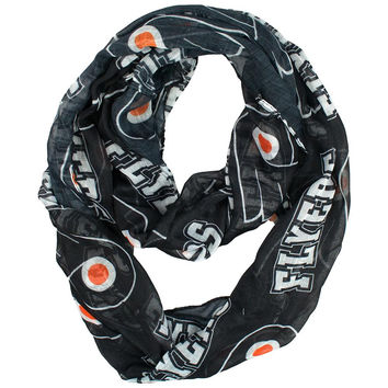 Philadelphia Flyers NHL Sheer Infinity Scarf