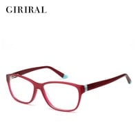 Acetate women glasses frame computer brand designer clear optical myopia spectacles #BC3515